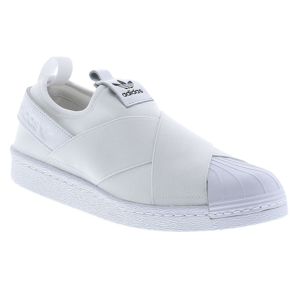 5221eef949c Tênis Adidas Superstar Slip On Originals Branco Feminino