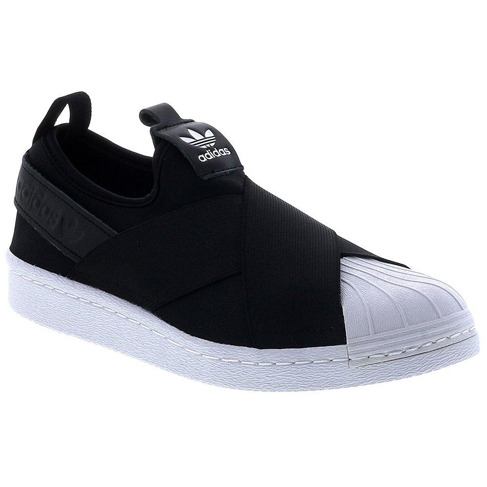 529288e5514 Tênis Adidas Superstar Slip On Originals Feminino